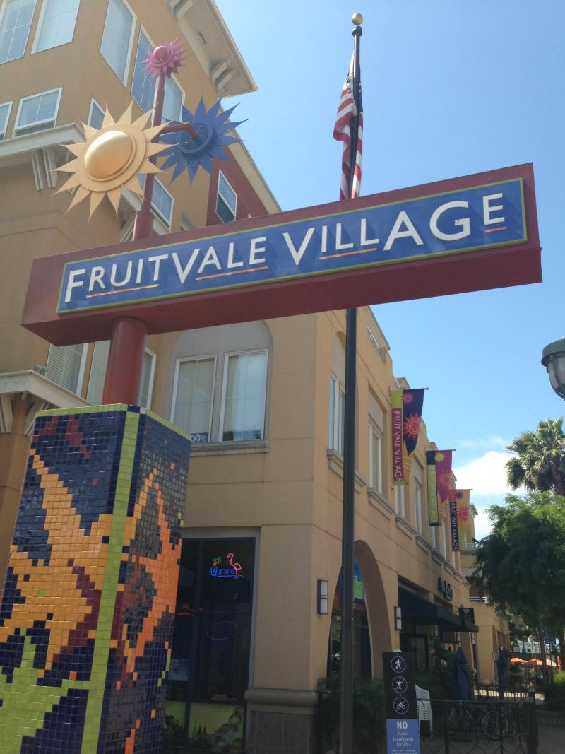 Fruitvale Village, a transit-oriented development in Oakland (Isabel Angell)