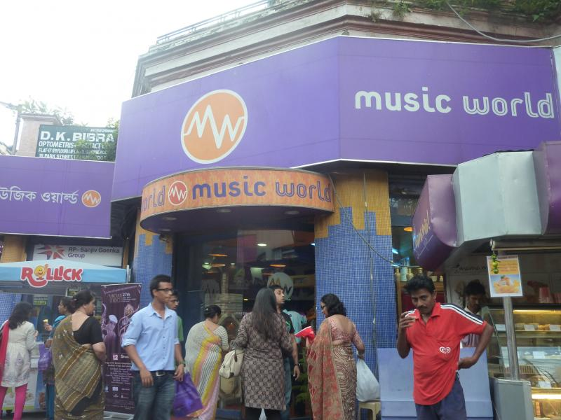 Music World closes
