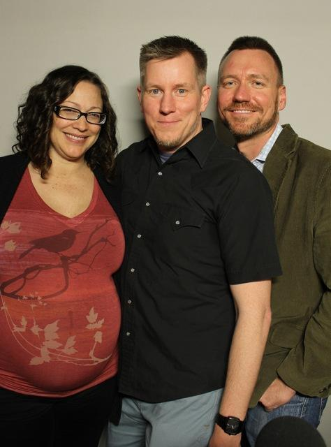 Parents Suzanne Thompson, Christopher Noessel and Benjamin Remington