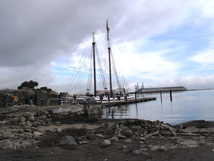 The Alma at Hunter's Point, where she was built in 1891.