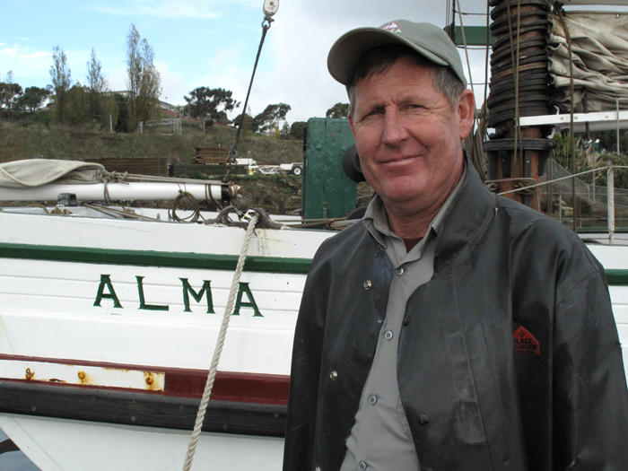 Charter Kays is the lead shipwright at the Maritime National Historic Park