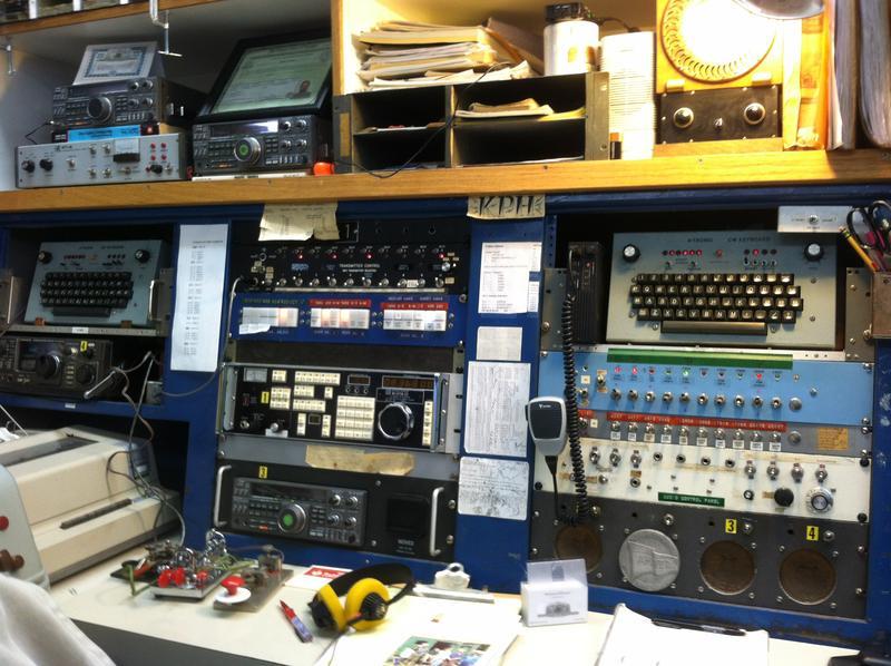 KPH Marine Radio's console