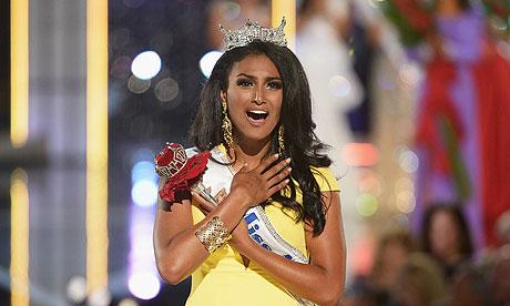 Nina Davuluri crowned 'Miss America'