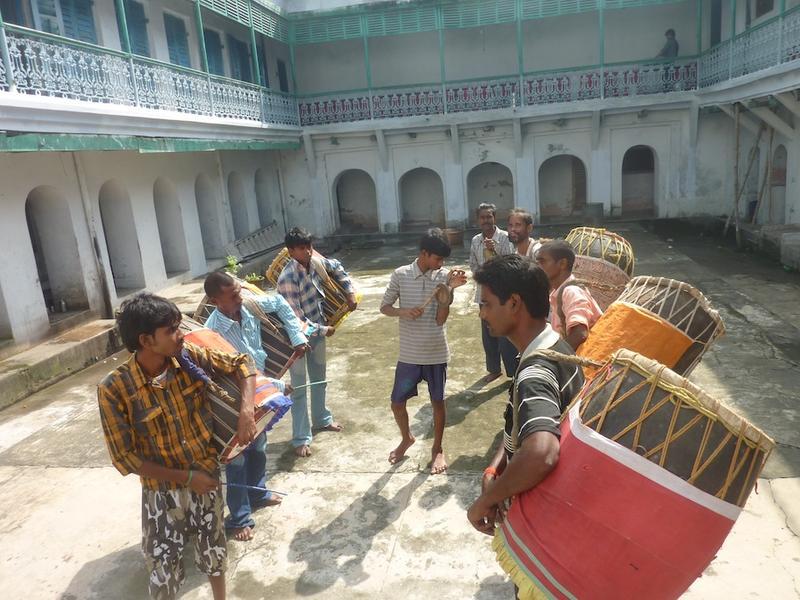 Durga Puja drummers