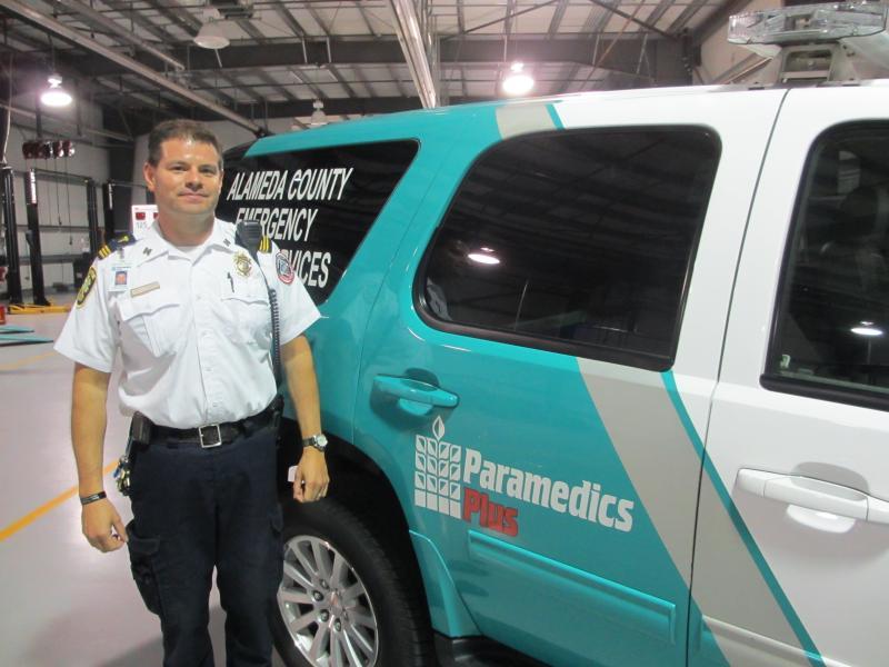 Jason Murphy with Paramedics Plus.