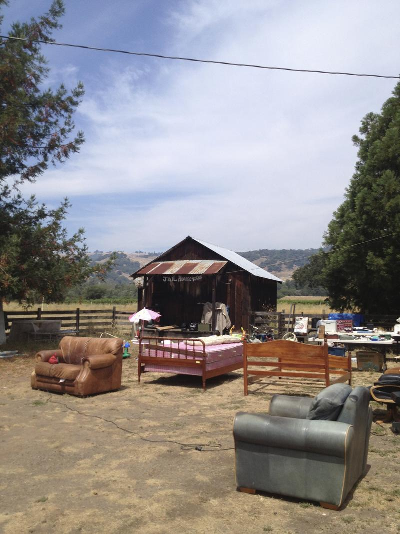 Barn sale in Boonville, CA.