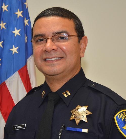 Ricardo Orozco, Area 3 Captain, OPD