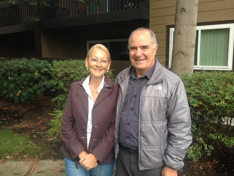 Maria Heredia and Vicente Corona are two of about 500 seniors on a waiting list for affordable housing in Palo Alto.