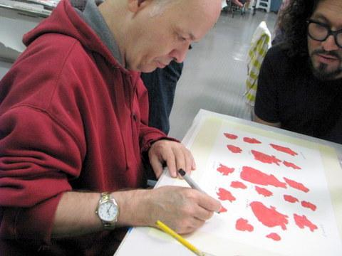 Walter Kresnik and Victor Cartagena work together