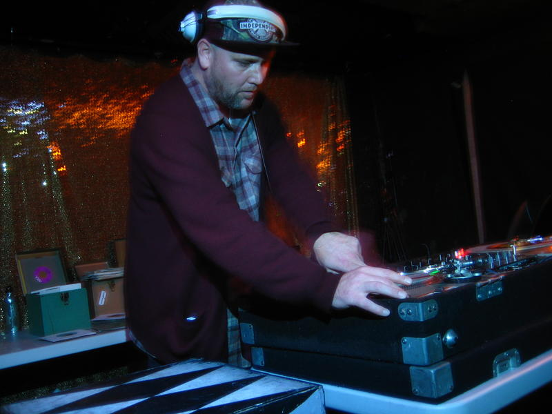DJ Lucky Siegle at Nightbeat happening at The Knockout in San Francisco
