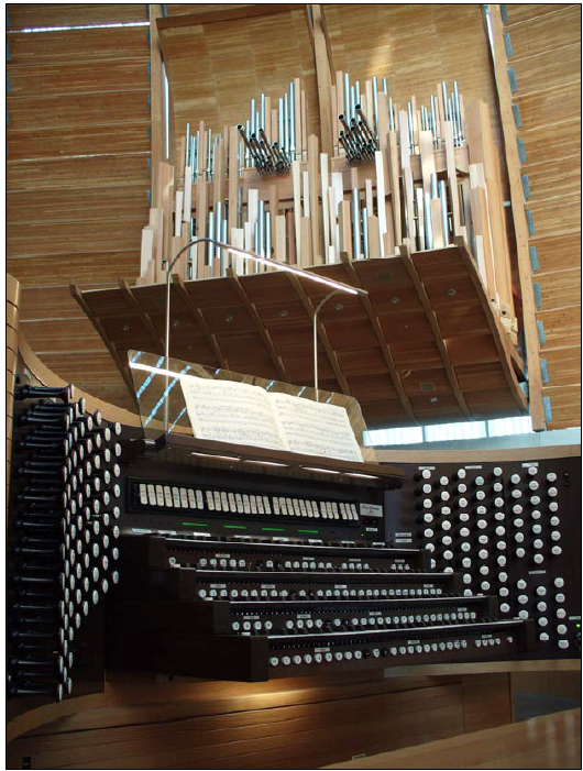 Conroy Memorial Organ at the Cathedral of Christ the Light in Oakland