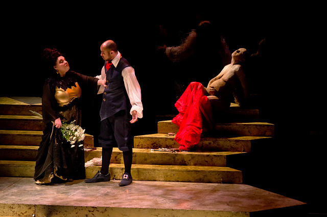 A performance of Tosca