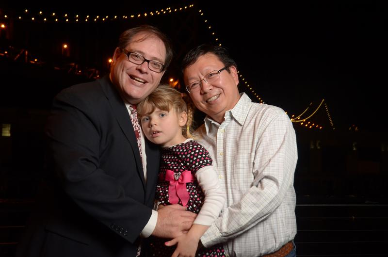 Mickey, Alicia and Amos Lim