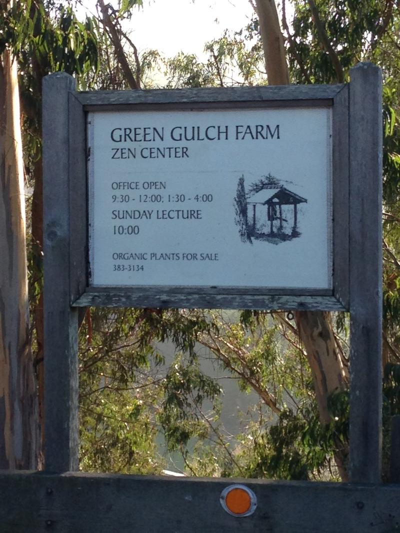 Green Gulch is a zen practice center and organic farm in Marin County