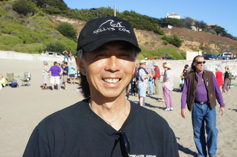 Arne Jin An Wong at the Kelly's Cove reunion