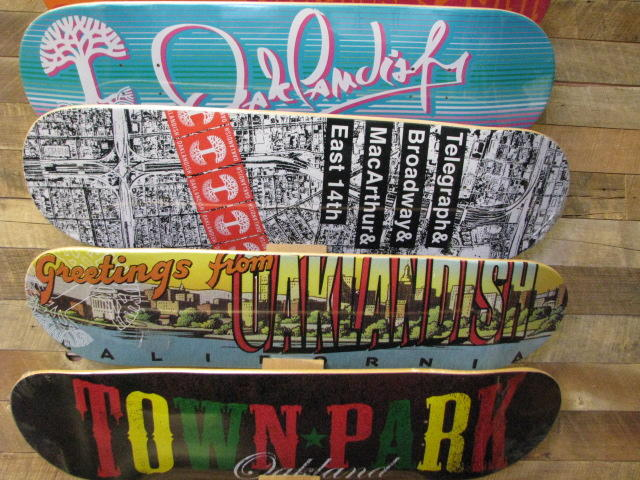 Oaklandish Skateboard Decks