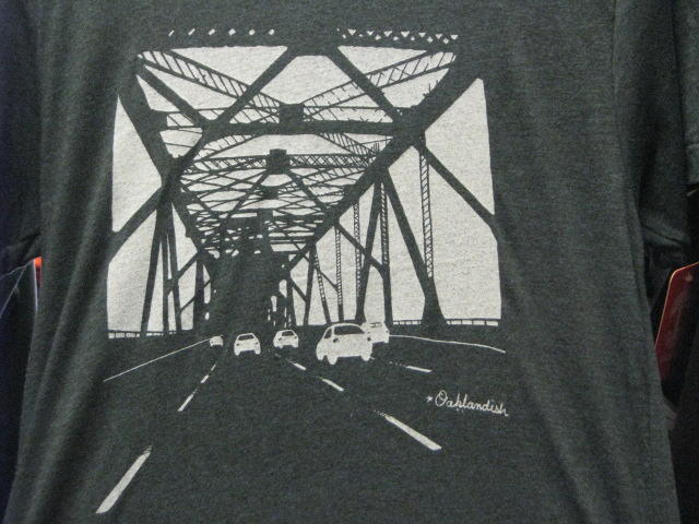 T-shirt featuring eastern span of the old Bay Bridge