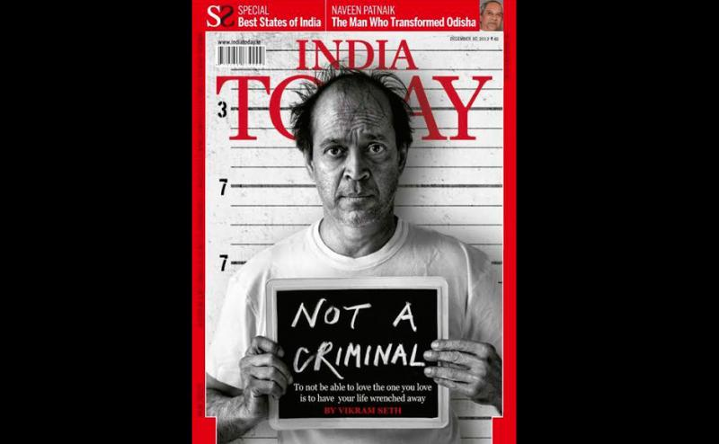 Vikram Seth India Today cover