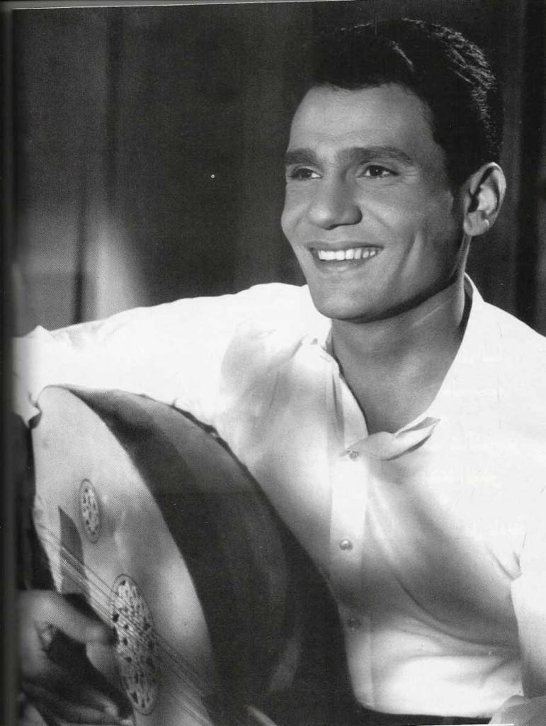 The late Abdelhalim Hafez, beloved Arabic musician