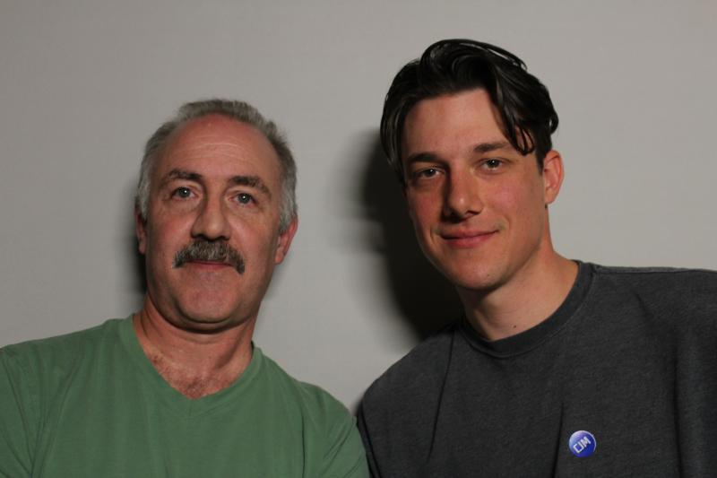 Chuck and Josh Lampert
