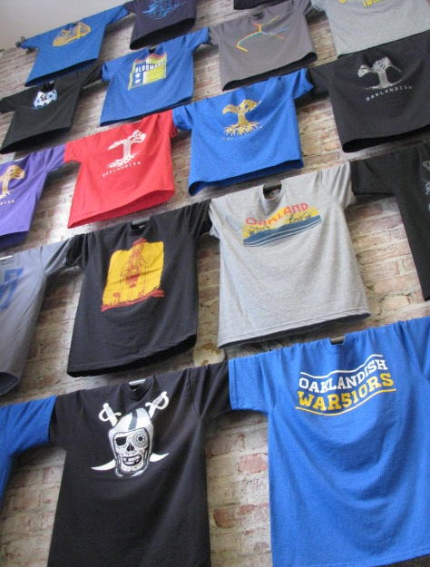 Wall of Shirts