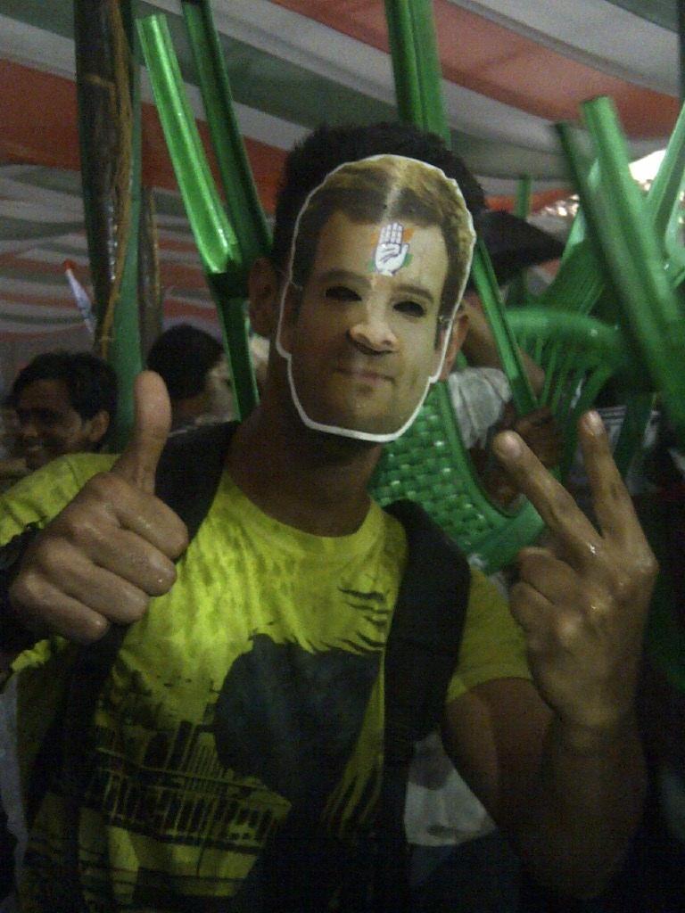 Rahul Gandhi supporter