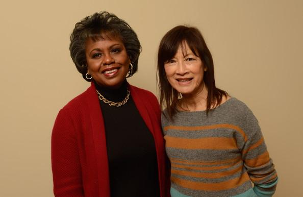 Anita Hill with filmmaker Freida Mock