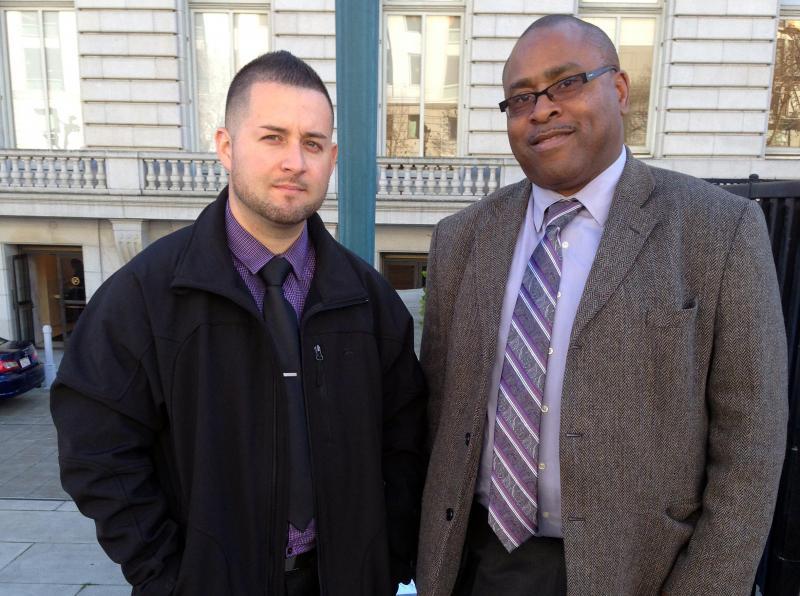 Deputies Joe Crittle and Diego Perez