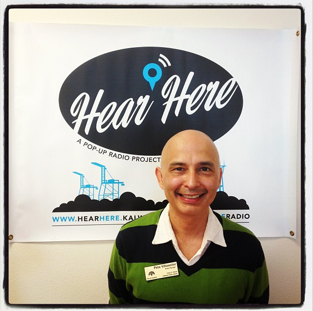Pete Villasenor, Branch Manager of Cesar Chavez library