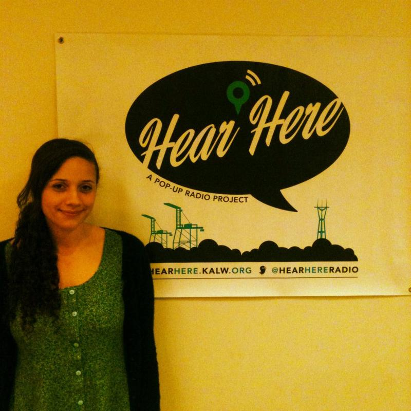 Tara Hagins shared her story with KALW's Hear Here project.