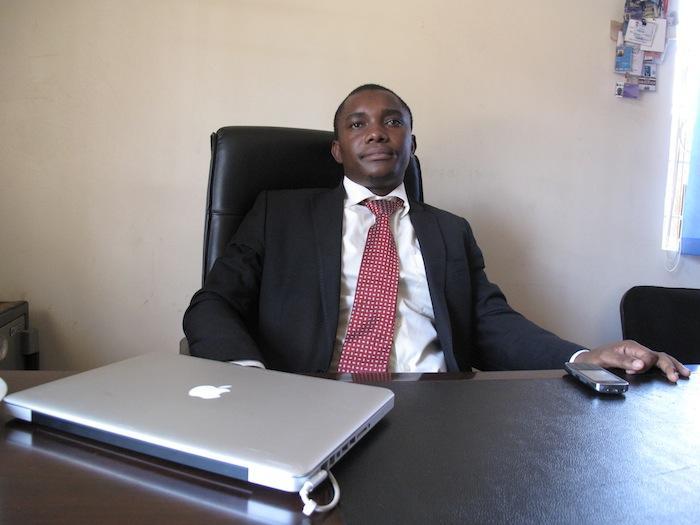 Human rights attorney, Adrian Jjuuko