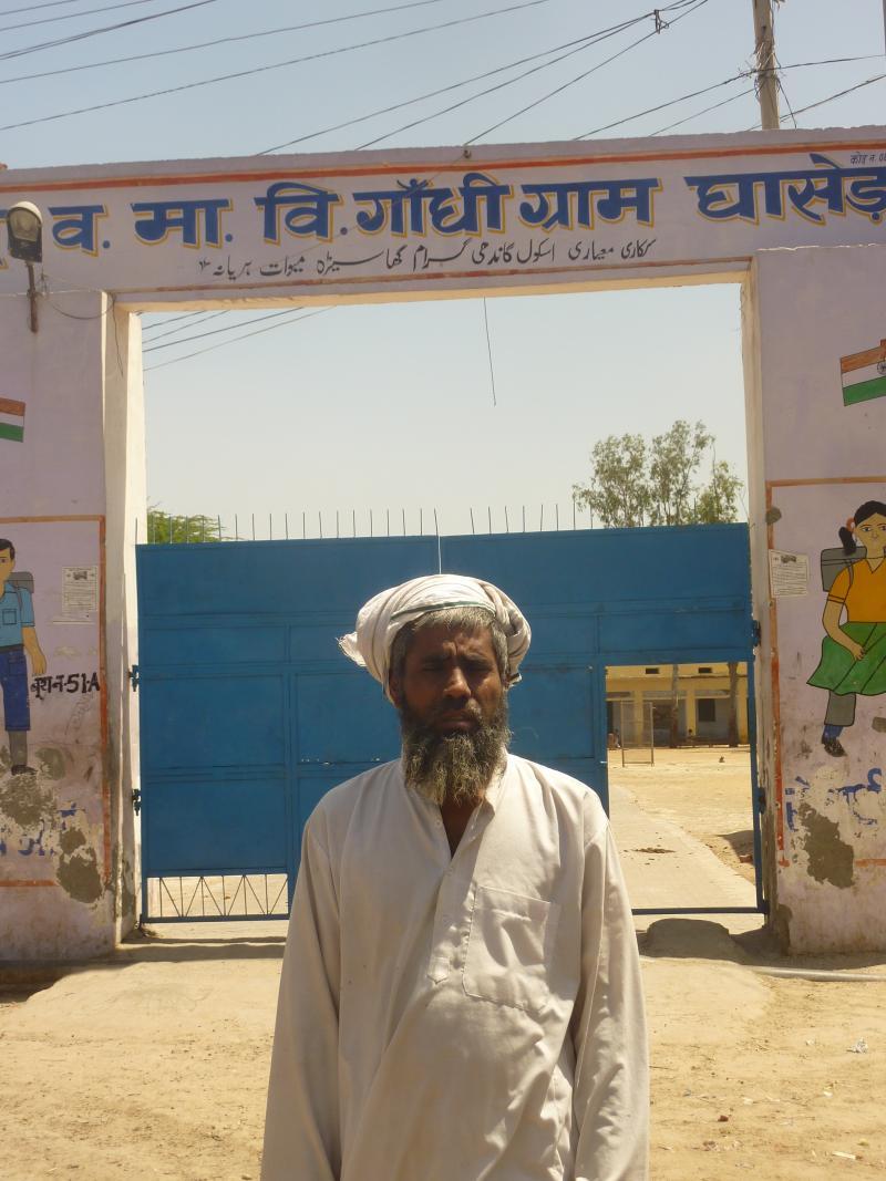Caretaker for the Gandhi Grammer School