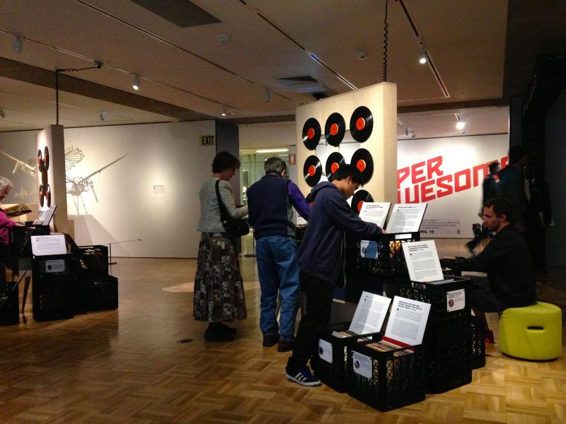 'Vinyl: The Sound and Culture of Records' at the Oakland Museum of California is open now until July 19th.