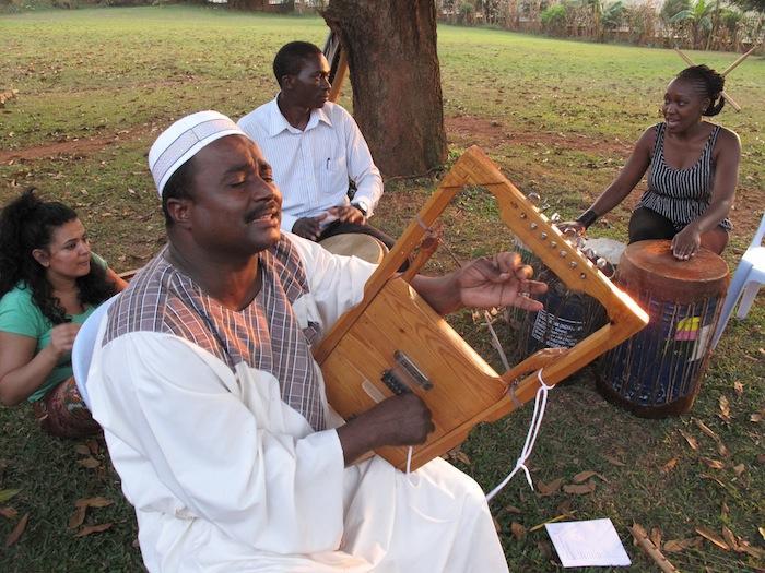Nile Project musicians rehearse in Kampala, Uganda