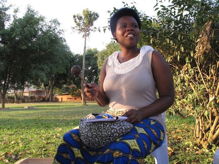 Rwandan musician Sophie Nzayisenga