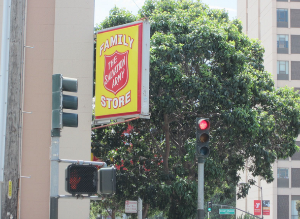 Salvation Army in the Mission District, San Francisco