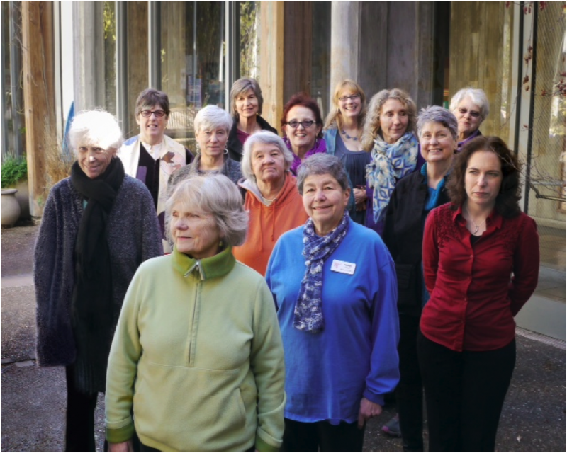 Members of Threshold Choir, San Francisco chapter