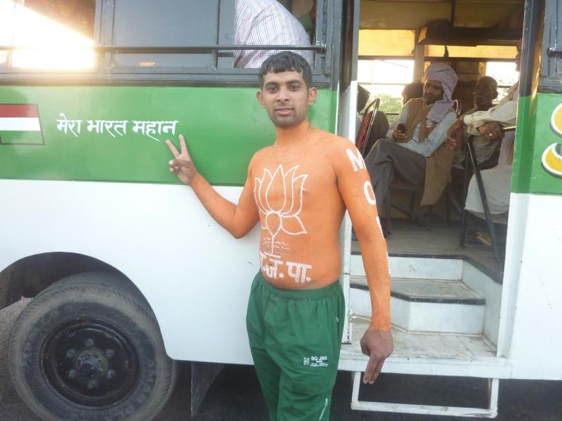 A wrestler and BJP supporter
