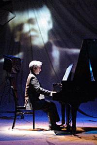 "Hershey Felder as Leonard Bernstein in ""Maestro"""