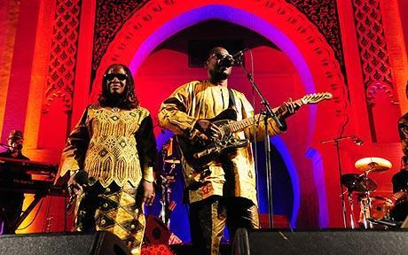 Amadou & Mariam at the Fes Festival 2014