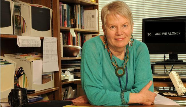 Outgoing director of SETI Jill Tarter