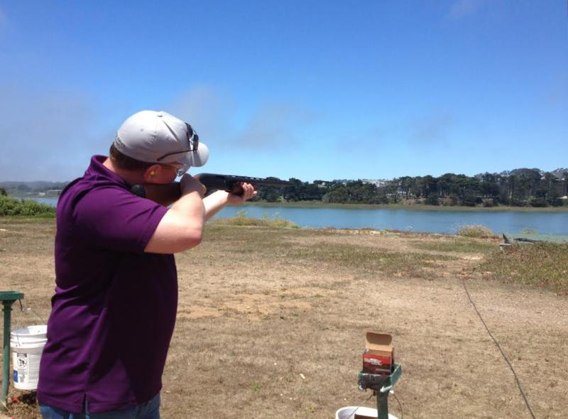 Practice at the Pacific Rod and Gun Club