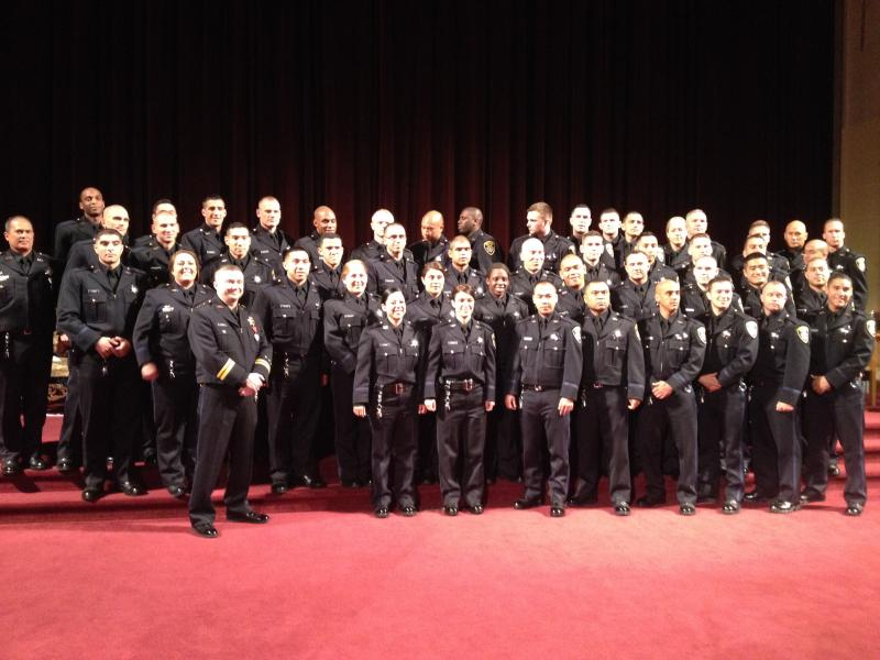 The 168th class of the Oakland Police Academy.