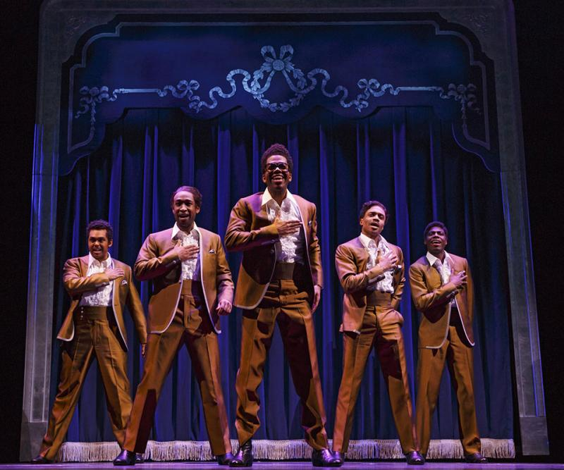 The original Broadway cast of Motown, the Musical...