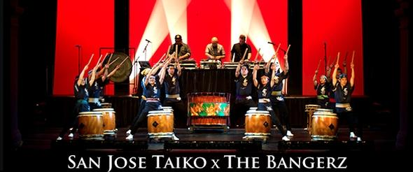 San Jose Taiko X The Bangerz