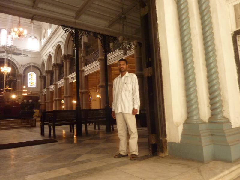 Caretaker at a Synagogue
