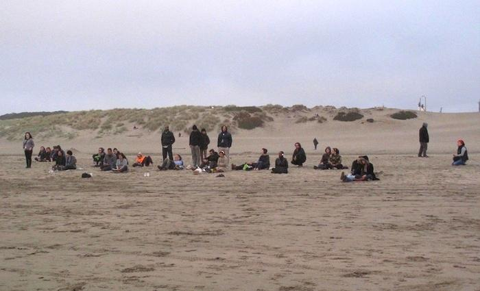 Listening to Music for a Changing Tide at Ocean Beach