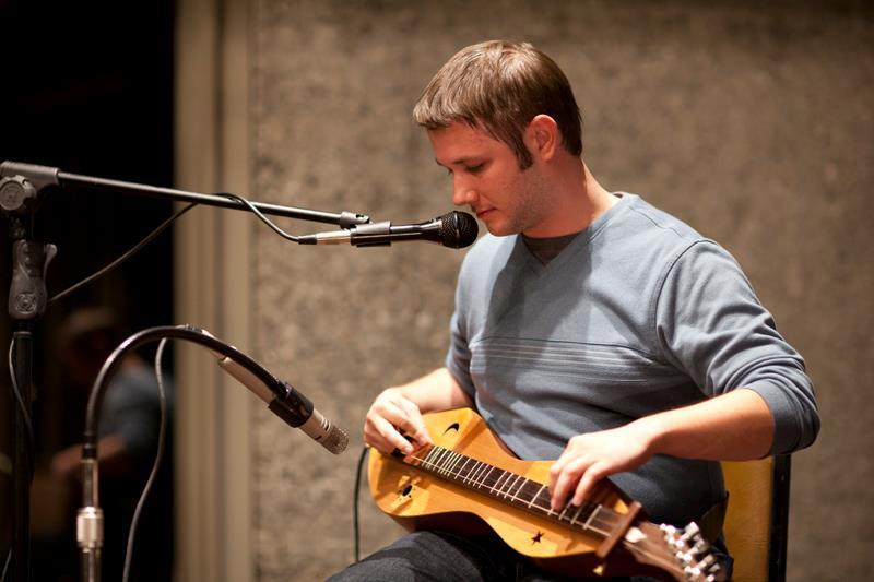 amazing dulcimer virtuoso Aaron O'Rourke