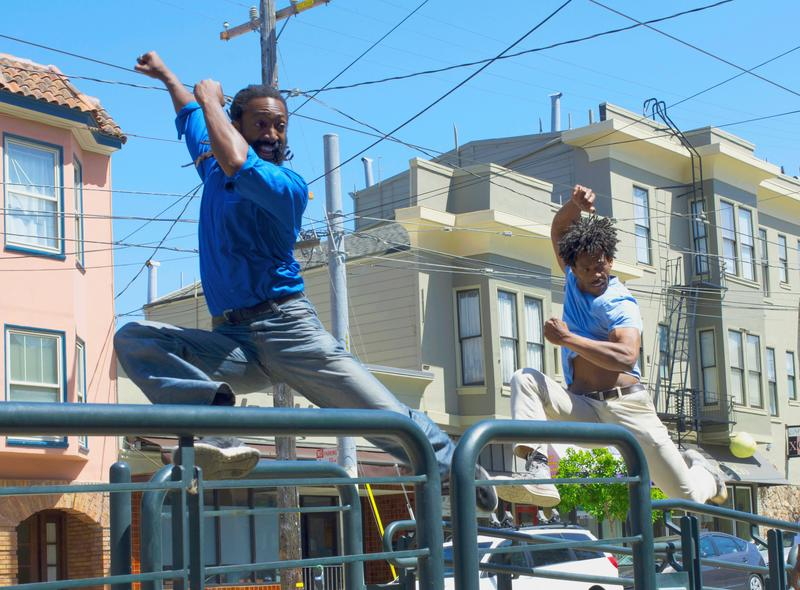 Antoine Hunter and C. Derrick Jones, SF Trolley Dances