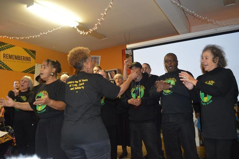 """Vukani Mawethu Choir at """"Africa is more than Ebola"""" event at Priority Africa Network"""